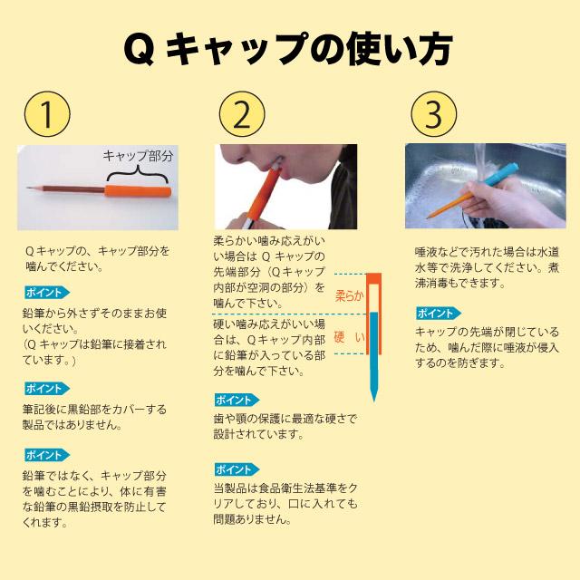 Qキャップの使い方