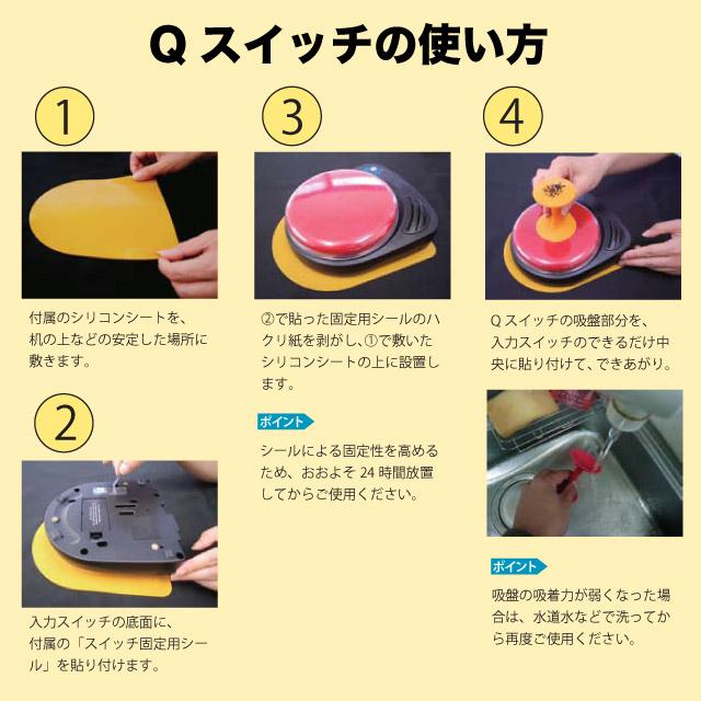 Qスイッチの使い方